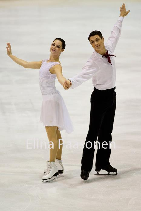 beautiful-shapes:  Tessa Virtue & Scott Moir, 2011 Finlandia Trophy FD - Funny face