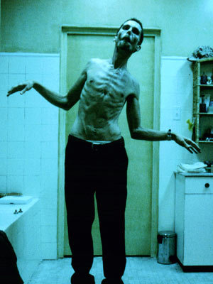 The Machinist, 2004 One of the best movies ever.