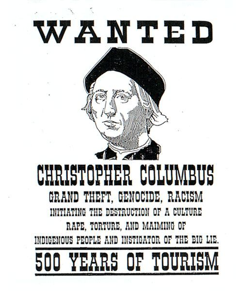 tryingtofollow:  Reconsider Columbus Day History Lesson