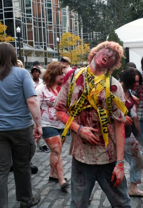 Yep.  Another year, another Zombiefest in Pittsburgh.