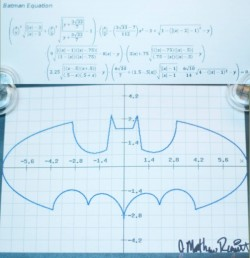 quantumaniac:  The Batman Equation