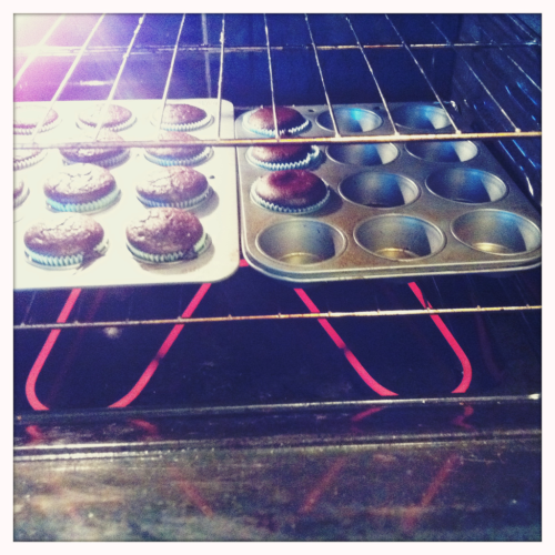 Baking the day away