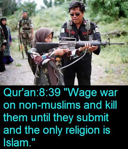 religionisretarded:  …..but our religion is peaceful!