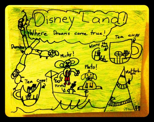 mickeyandminnie:  Disneyland from the eyes of a six year old.