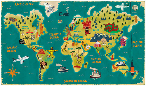 stumblingthroughdarkrooms:  The World (by Paul Thurlby)