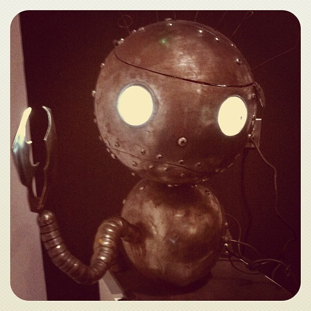 """Robot Boy"" (Taken with instagram)"