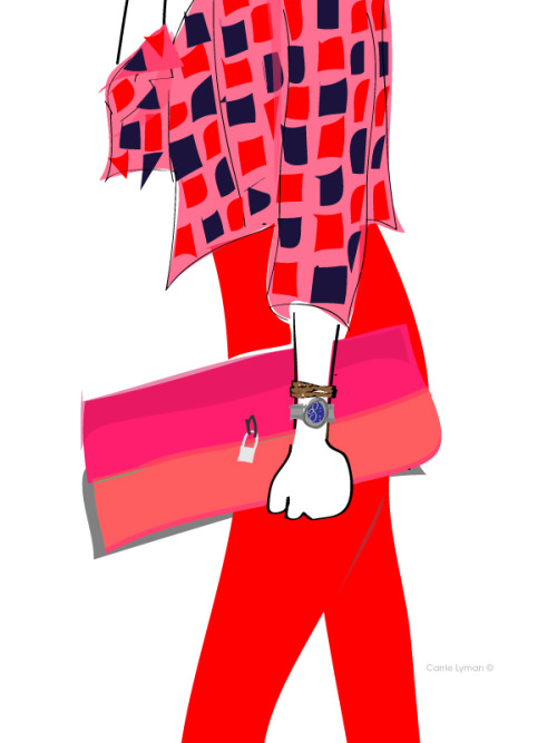 More street style illustration!