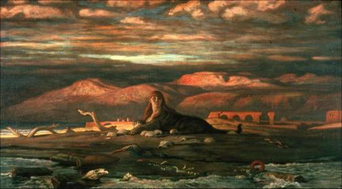 gaglioffo:  Elihu Vedder, The Sphinx of the Seashore, 1879 - 80