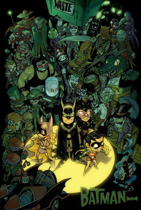 fumettidccomics:  dadobass:  BatWorld  .  They even got Batmite in there :D impressive