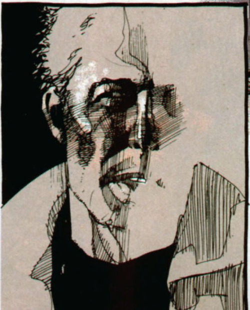 teaandink:  John Constantine as drawn by Dave McKean  ,