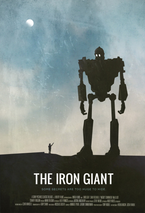 fuckyeahmovieposters:  The Iron GiantMade and submitted by Felix Roos
