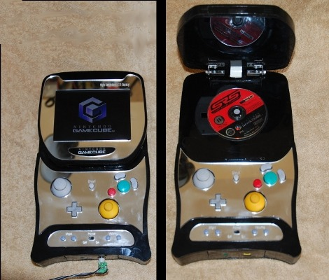 thenintendard:  Portable Gamecube with a flip top. Sick.  i need this