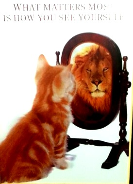 What matters most is how you see yourself!… So be true to yourself, forget the negative & live in the positive! :)