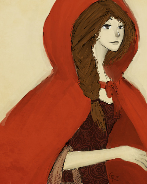 Red. Little Red Riding Hood doodle. Tralalalalalalaaaaa. Don't know whether to consider this fanart, but I'll tag it as fanart anyway.