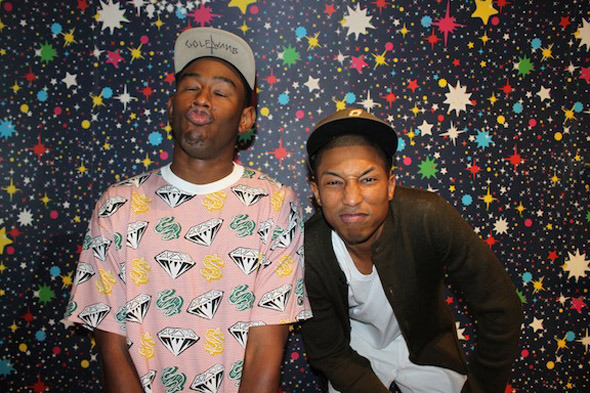 Tyler the Creator and Pharrell Williams