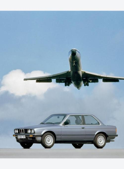 bestwheelbase:  In 1983 - E30 took flight! 2570mm.