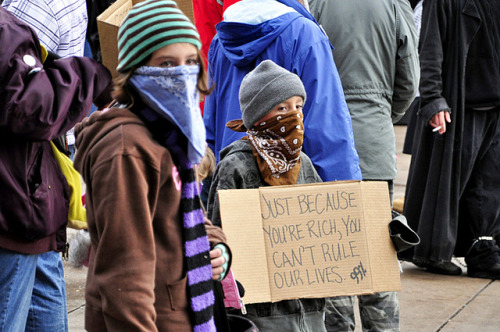 montesmith:  Occupy Denver on Flickr.