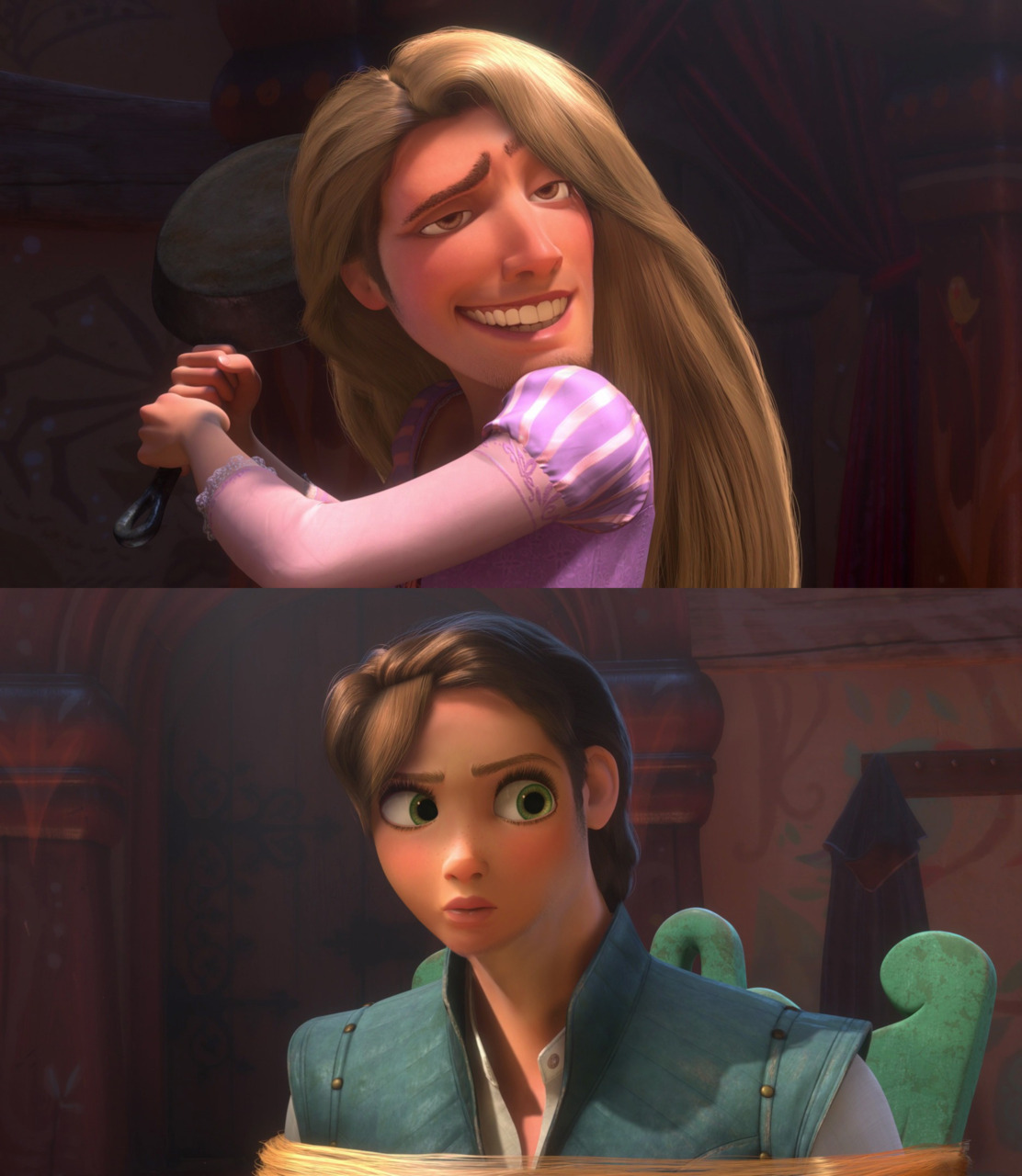 disneyfaceswap:  Submission from rintau. Mod comment: Rintau, you're kind of my favorite person right now.
