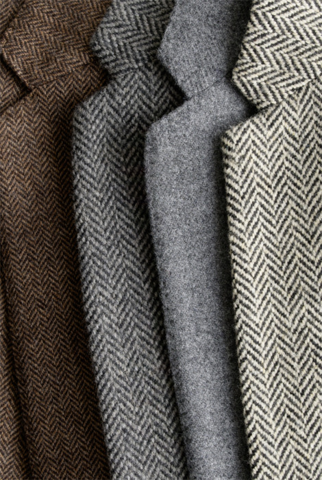 Tweed love.  Must-have for Autumn.