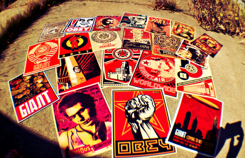 jrstaxx:  A few from my OBEY collection.