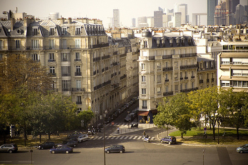 Paris junction  | by © moshi moshi jonas | via thatstreet