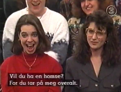amused feminists on Jerry Springer circa 1985