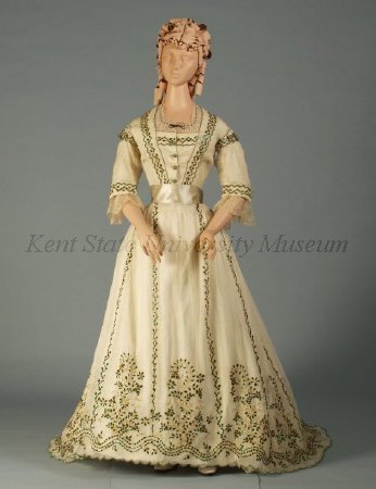 Dress, ca 1865 India (worn in Europe), Kent State