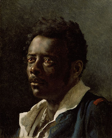 cavetocanvas:  Portrait Study - Theodore Gericault, 1818-1819 (Submitted by thecoldmountainair)