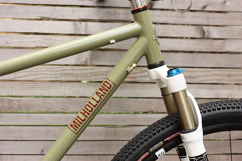 Milholland makes some of the most beautiful bicycles I have ever seen, and I am excited to visit their shop and talk about apprenticeships.