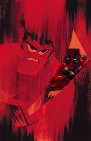 camp-eon:  Samurai Jack vs Deadpool