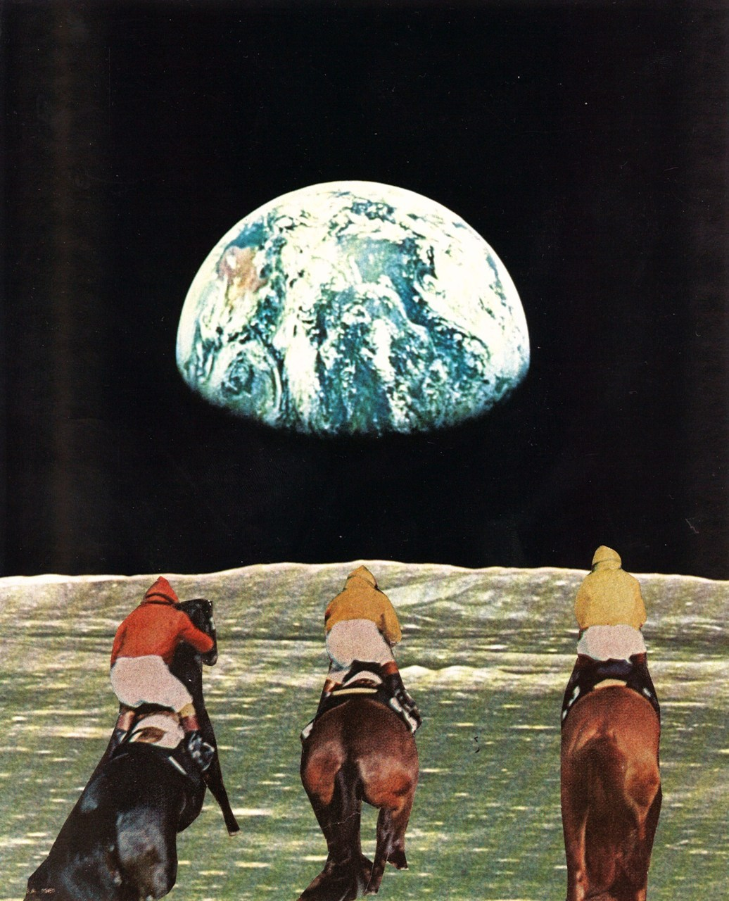 collageartbyjesse:  race for the prize
