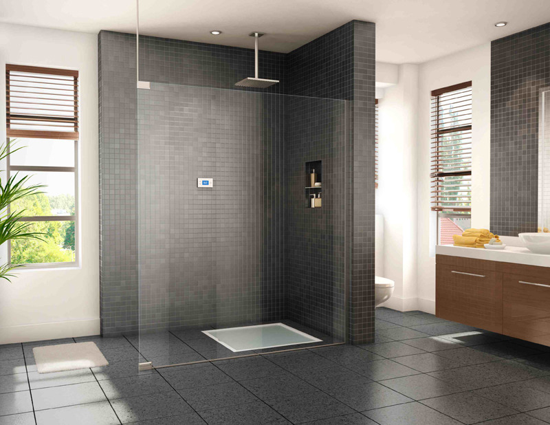 obon:   Smart EcoVéa Enables Guilt-Free Showers — Jetson Green One of the most innovative products found on the Greenbuild Expo floor was the Reveeco EcoVéa recycling shower. This might be a hard sell for some but the concept is brilliant, allowing you to enjoy long showers without guilt. Possibly the world's most intelligent shower, EcoVéa recycles water within your shower to push the limits of water conservation. For a ten minute shower, the EcoVéa can save up to 66% above your fixture efficiency savings. EcoVéa consists of a 36″ x 36″ shower base which comes in a variety of finishes …. While showering, the EcoVéa cell analyzes whether water is dirty and should be discarded or water is clean and can be reused. If reused, it is treated through a filter and antibacterial treatment, mixed with a small quantity of new hot water to maintain a consistent temperature, and sent back to the shower head.