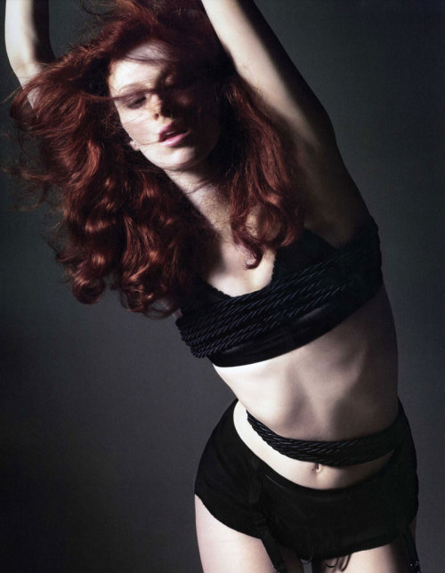 Karen Elson - Vogue Paris 2007 Calendar by David Sims
