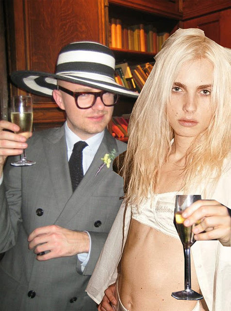 "andrejpejicpage:  Andrej Pejic and Geoffrey J Finch gear up for their hot date at Buckingham Palace   by Patty Huntington  Our recent post about Andrej Pejic heading off to meet the Queen at an upcoming Australian-themed reception at Buckingham Palace caused a minor stir. Although Pejic's Australian agency Chadwick had initially confirmed Pejic would be attending this Thursday's soiree, faced with what we hear was a subsequent barrage of calls from the Australian mainstream media, the agency later played it a little coy, claiming Pejic ""had not decided if he would make it to London"". Yeah, right. This morning, we spoke with fellow Buck Palace invitee, Pejic's London-based designer mate Geoffrey J Finch, who tells frockwriter the pair plans to head to the soiree together. ""I couldn't think of a better date to go with"" said Finch, who was the first to put Pejic on a runway in womenswear way back in May 2009 in Sydney, when Pejic opened Finch's Antipodium show at Australian Fashion Week. Finch is suiting up for the royal occasion in a double-breasted charcoal Burberry. Is he at all concerned that his date might turn up channeling Princess Diana? ""It would be quite incredible, I'd love to see him in a little pleated collar"" he noted. So far, however, we gather Pejic has been mulling over a rack of Jean Paul Gaultier.   Read the rest of the article here: http://frockwriter.blogspot.com/2011/10/andrej-pejic-and-geoffrey-j-finch-gear.html"