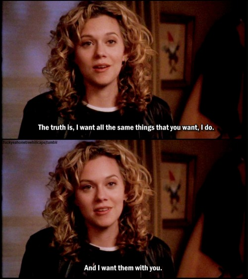 One Tree Hill 1x09 With Arms Outstretched