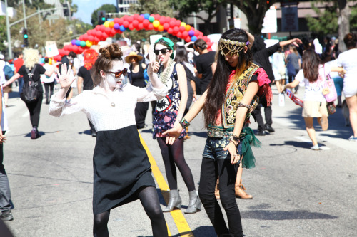 Trespass LA Parade 2011 by Adina Doria