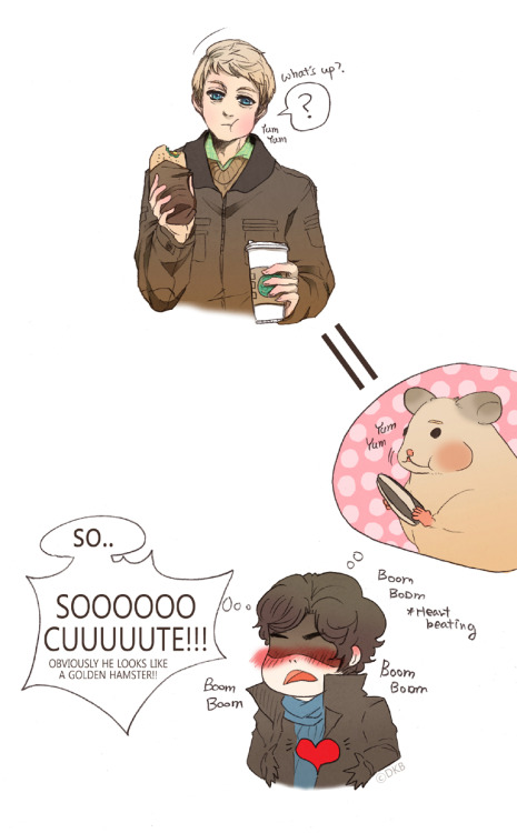 rymdunge:  John is a hamster by ~DiaeMyung