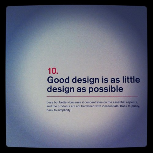 #design #dieterrams #sf  (Taken with instagram)