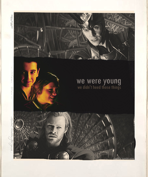 We were youngWe didn't heed those thingsWe were youngLike the universeRaised By Swans