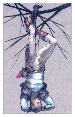 Tarot Cards - The Hanged Man