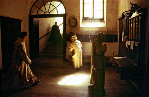 "Carthusian monks at a Roman Catholic monastery in France in a scene from ""Into Great Silence,"" a documentary by Philip Gröning."