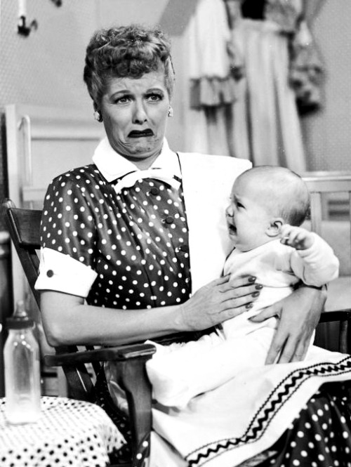"A still from the I Love Lucy episode ""No Children Allowed,"" originally aired April 20, 1953."