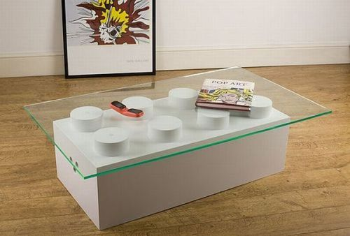 Ogle LEGO coffee table (Source: Design Buzz)