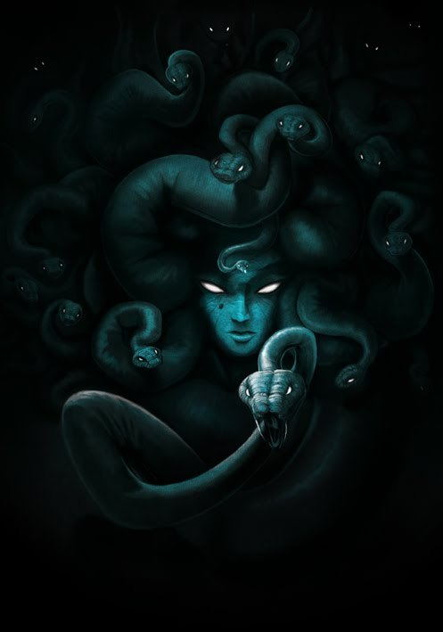 all-about-villains:  Medusa : By Nicolas Leger