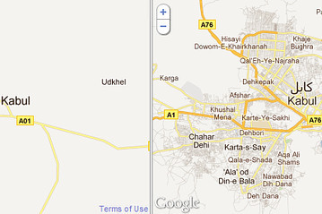 (via On Google Maps: Afghanistan, Brought to You by India - India Real Time - WSJ) Yesterday, Google unveiled its first detailed map of Afghanistan, drawing on the work of amateur cartographers to highlight a nation that has become one of the world's major geopolitical flashpoints.  On the new map, Kabul is shown in great specificity, with roads demarcated down to neighborhood blocks and points of interest like parks, schools, hospitals, cafés and embassies