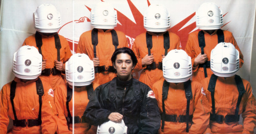 "Ryuichi Sakamto JAPAN TOUR 1986 ""MediaBahn""  Still Photo Shooting taken from tour booklet"