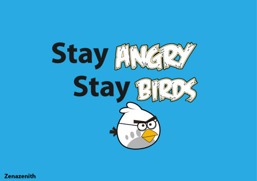 Stay angry stay birds