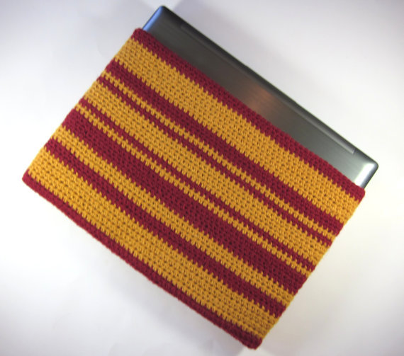 Gryffindor Laptop sleeve by danadooleydesigns on etsy