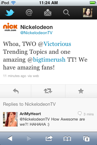 We make Nick proud :D
