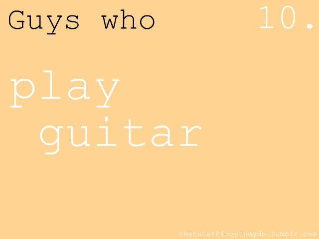 thecutethingstheydo: play guitar